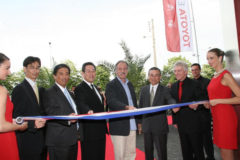 Inauguration Toyota