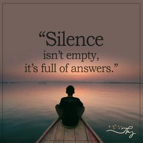 De stilte