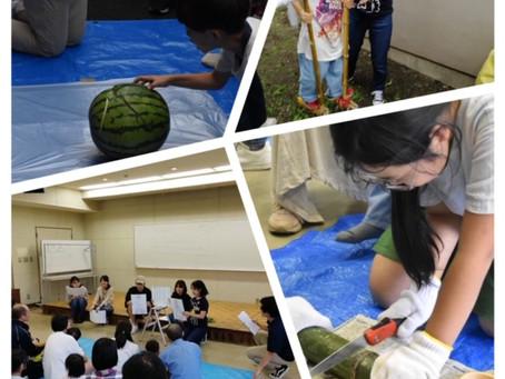 夏の自然体験教室~竹を使って夏を楽しもう~🎋