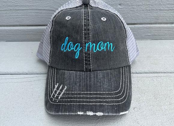Dog Mom Mesh Back Hat