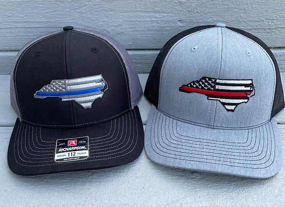 NC State Tactical Thin Line Flag R112 Hat