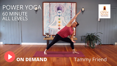 TAMMY POWER YOGA VID THUMB OPEN DOORS YO
