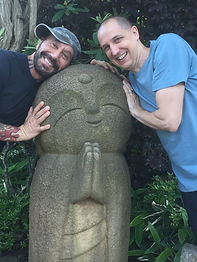 Shawn and Richard Statue.JPG