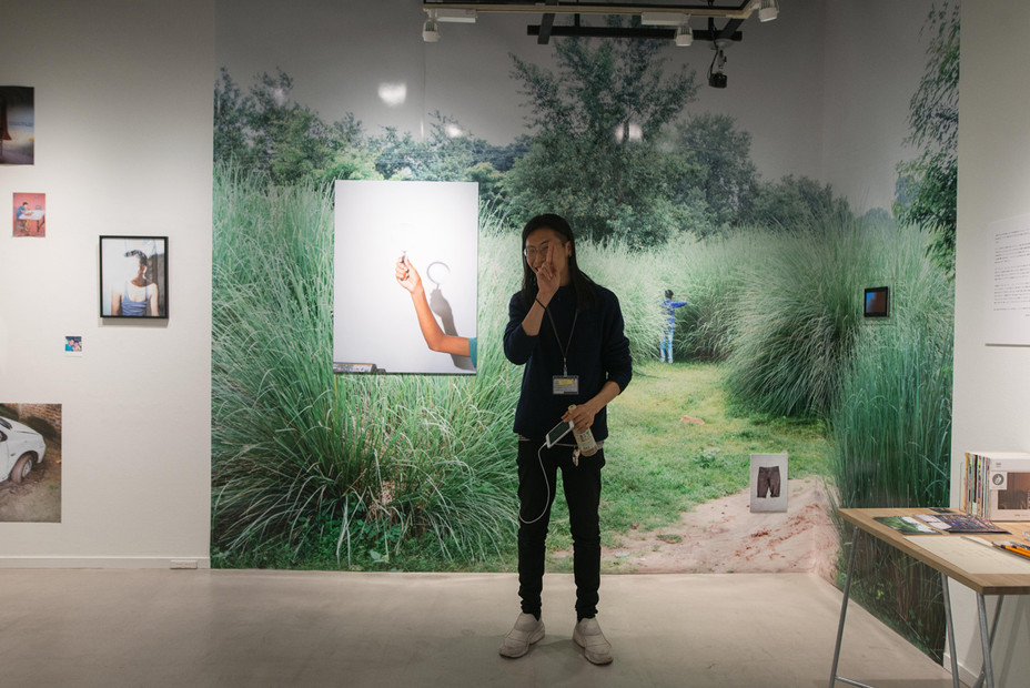 写真家・千賀健史さんの展示「Suppressed Voice」