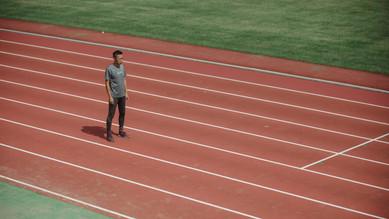 【写真展まであと6日】写真展に登場するアスリートを紹介。2人目は100mのスプリンター菅野優太
