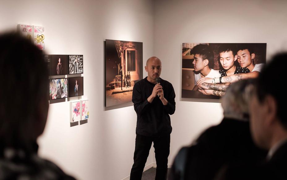 写真展4日目、ギャラリートークを開催しました