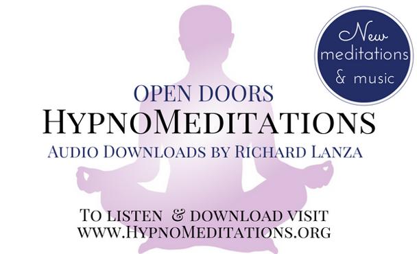 Meditation download, psychic, clarity, audio meditations, open doors, richard lanza