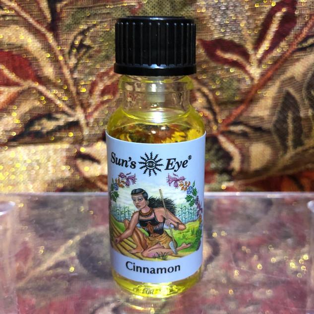 Sun's Eye Oil - Cinnamon 1/2 fl. oz.