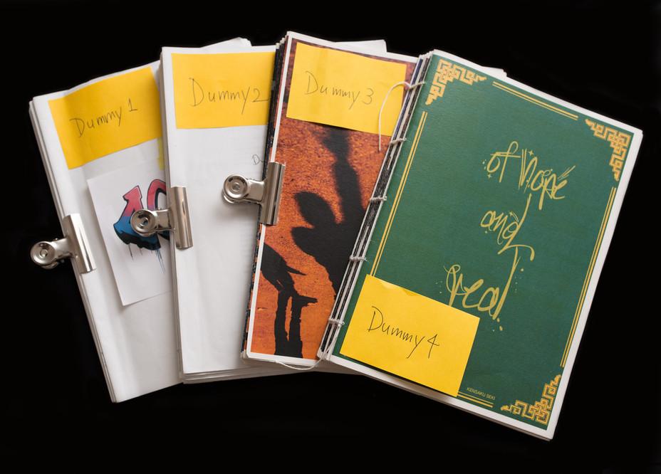 ワークショップPhoto book as object で4つのダミーブックをつくった