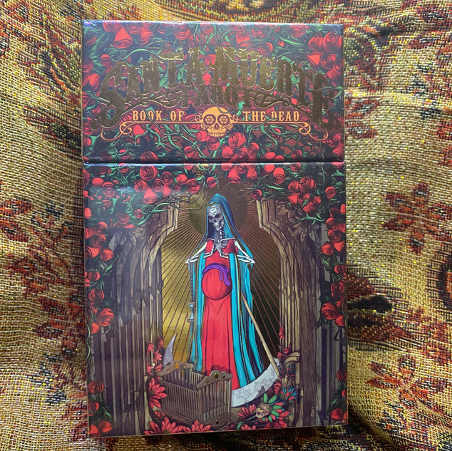 Santa Muerte Tarot - Listrani Fabio