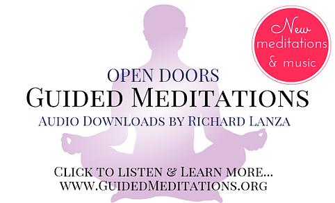 GuidedMeditations.org landing page ad.pn
