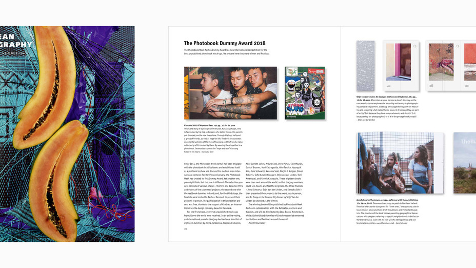 写真雑誌「European Photography」で写真集「OF HOPE AND FEAR」が紹介されました
