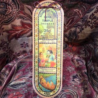 India Temple Incense (25 Gram)