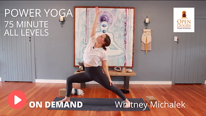 WHITNEY POWER YOGA VID THUMB OPEN DOORS