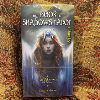 Book of Shadows Tarot Vol. 1 (As Above) - moore, b