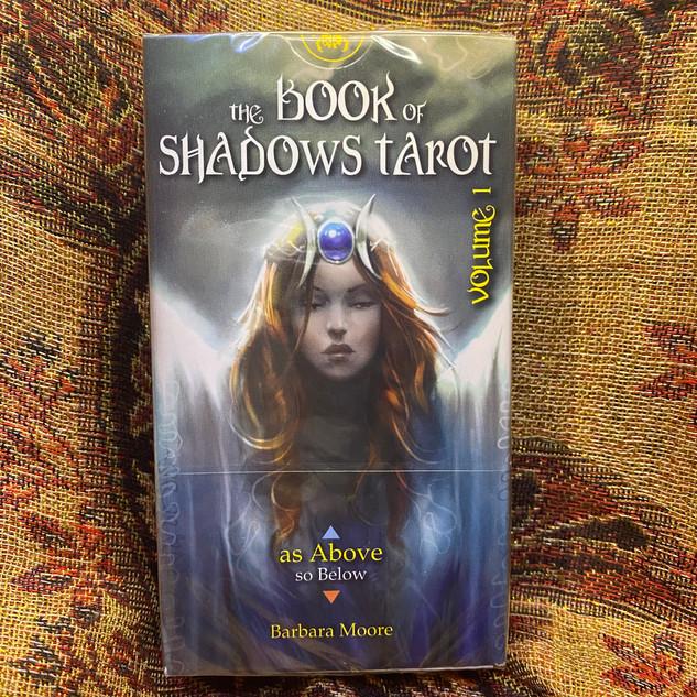 Book of Shadows Tarot Vol. 1 (As Above) - moore, b