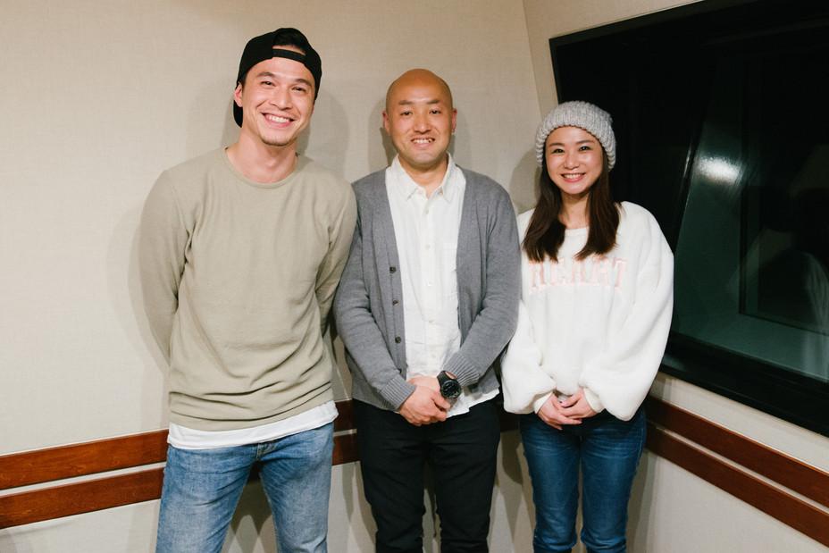 ラジオ番組TOKYO FM WORLDに27日出演します