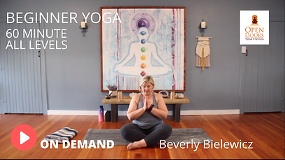 Beginner Beverly YOGA VID THUMB OPEN DOO
