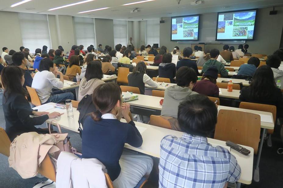早稲田大学の授業1コマを担当しました