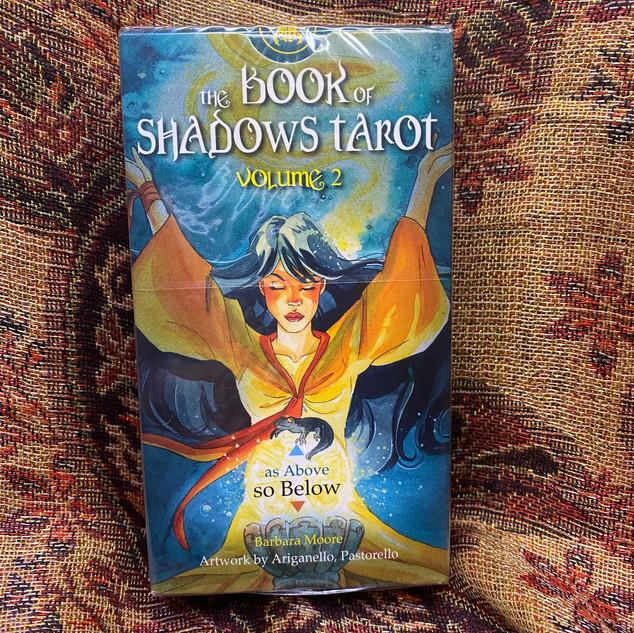 Book of Shadows Tarot Vol. 2 (So Below) - moore, b