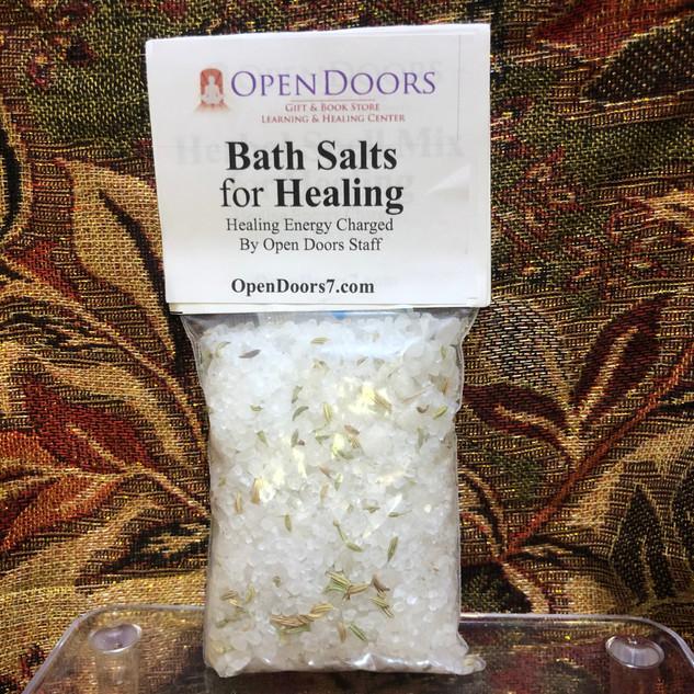 Open Doors Bath Salts - Healing