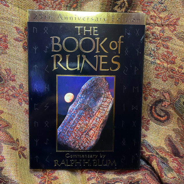 Book of Runes - blum, ralph