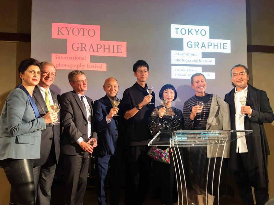 TOKYOGRAPHIEオープニングレセプションへ
