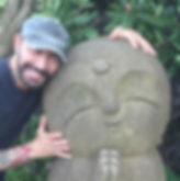 Richard with Statue 2.jpg