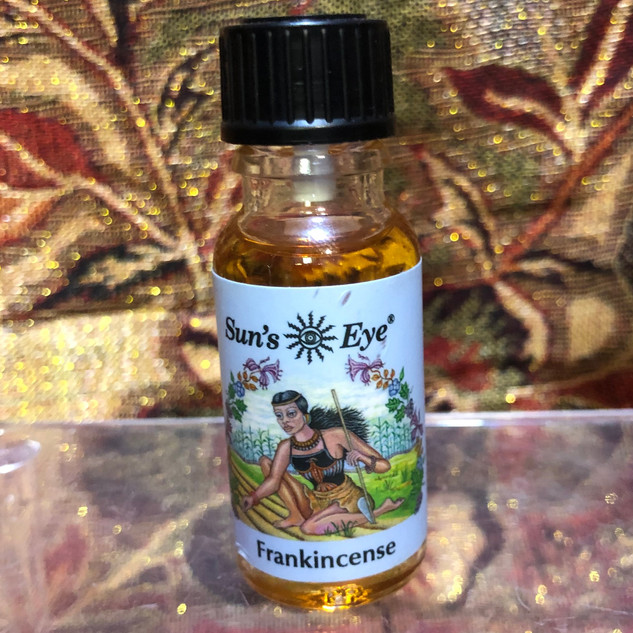 Sun's Eye Oil - Frankincense 1/2 fl. oz.
