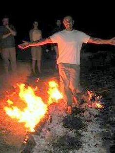 firewalks, Fire Walks, Fire Walk, New England Fire Walk, Boston Fire Walk, firewalking, ceremony, self empowerment, spiritual ceremony, rite of passage, group fire walks, events, Richard Lanza