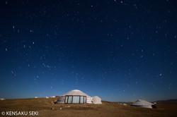 草原とゲルと星空・モンゴル2016