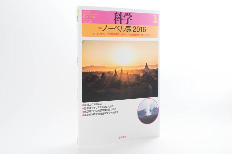 岩波書店・雑誌『科学』の表紙を1年間担当させていただきます