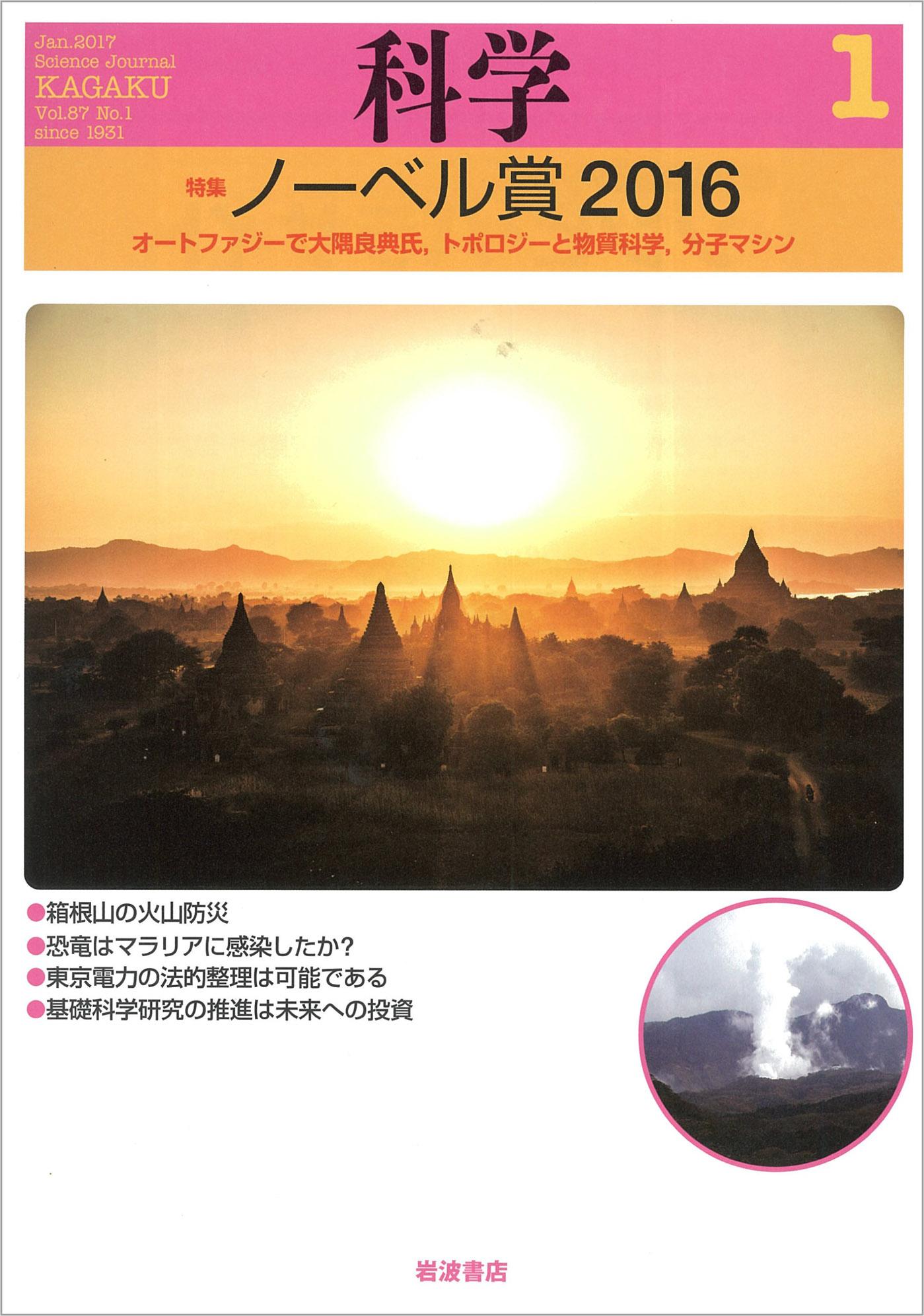 岩波書店「化学」2017年1月号