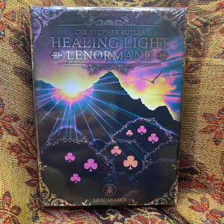 Healing Light Lenormand - butler, christopher