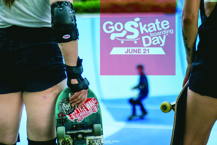 Happy Go Skateboarding Day! Come skate with the Babes Brigade at Dunbat Skatepark today from 5pm onw