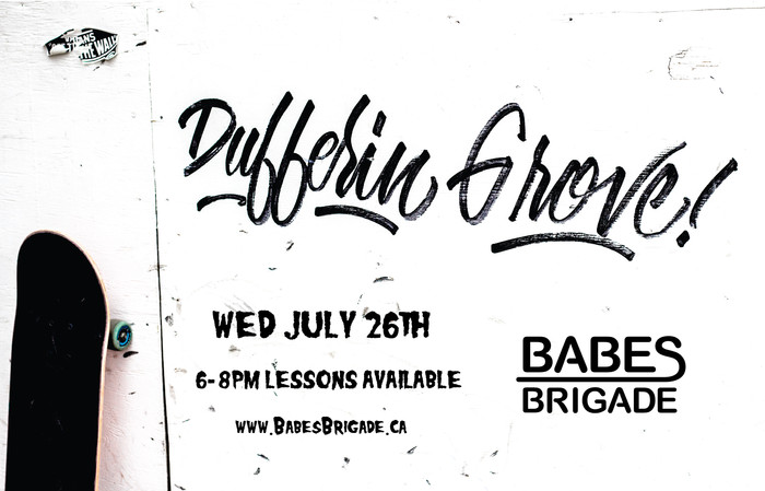 Tonight at Dufferin Grove! Lessons available, please book online!