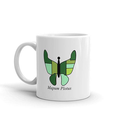 Datavizbutterfly - Mapum Plotus - Mug