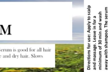 DIVINE HEALING HAIR GROWTH SERUM
