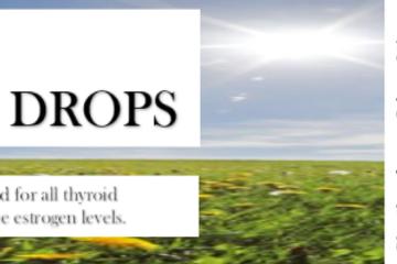DIVINE HEALING   THROAT & THYROID DROPS