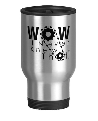 Wow, I Never Knew That! Travel Mug