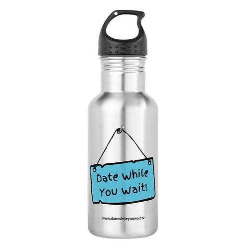 Water Bottle, Stainless Steel, 18 oz