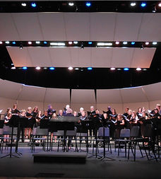 Poway Community Choir, in conjunction with the Poway Symphonette, performing a preview of works featured on their 2018 European Summer Performance Tour in Prague, Vienna, and Salzburg