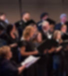 Poway Community Choir sings American folk and popular songs at their Violin and Choral Masterpieces Concert, and later in the evening performs Beethoven and Brahms with the Poway Symphony Orchestra