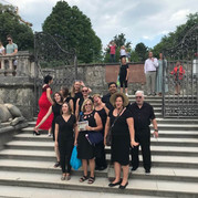 Singing on the Mirabell Garden Steps