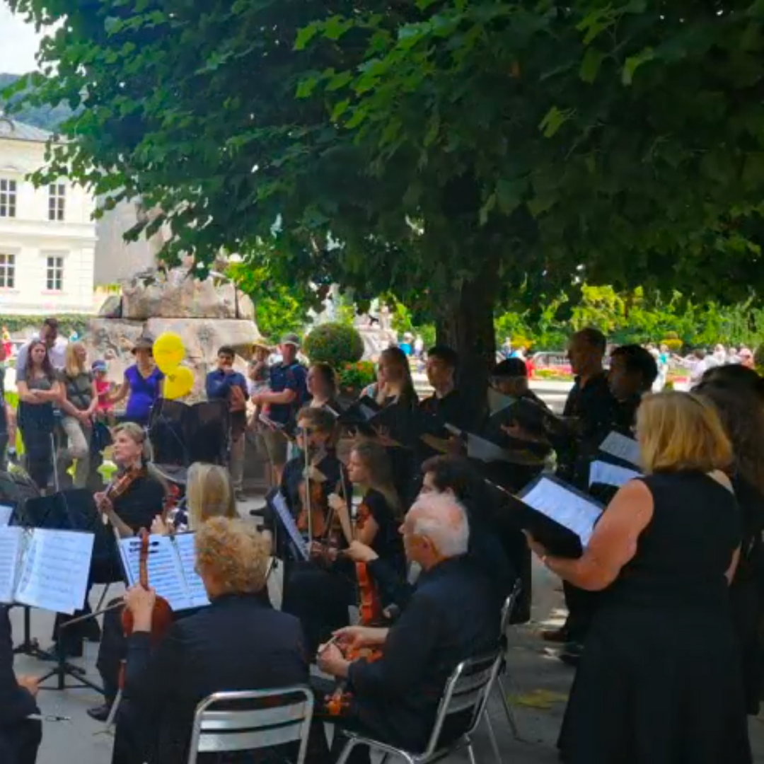 Mirabell Gardens Concert, Salzburg