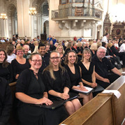 Choir Members Ready for Salzburg Performance