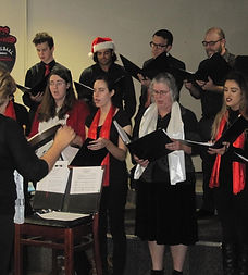 Performance at the Poway Rotary Club's Holiday Luncheon