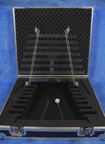 Harpe de cristal 8 tubes