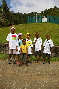 LEEP 2008 - Children from Antananarivo at Ranomafana National Parc - Hope For Madagascar