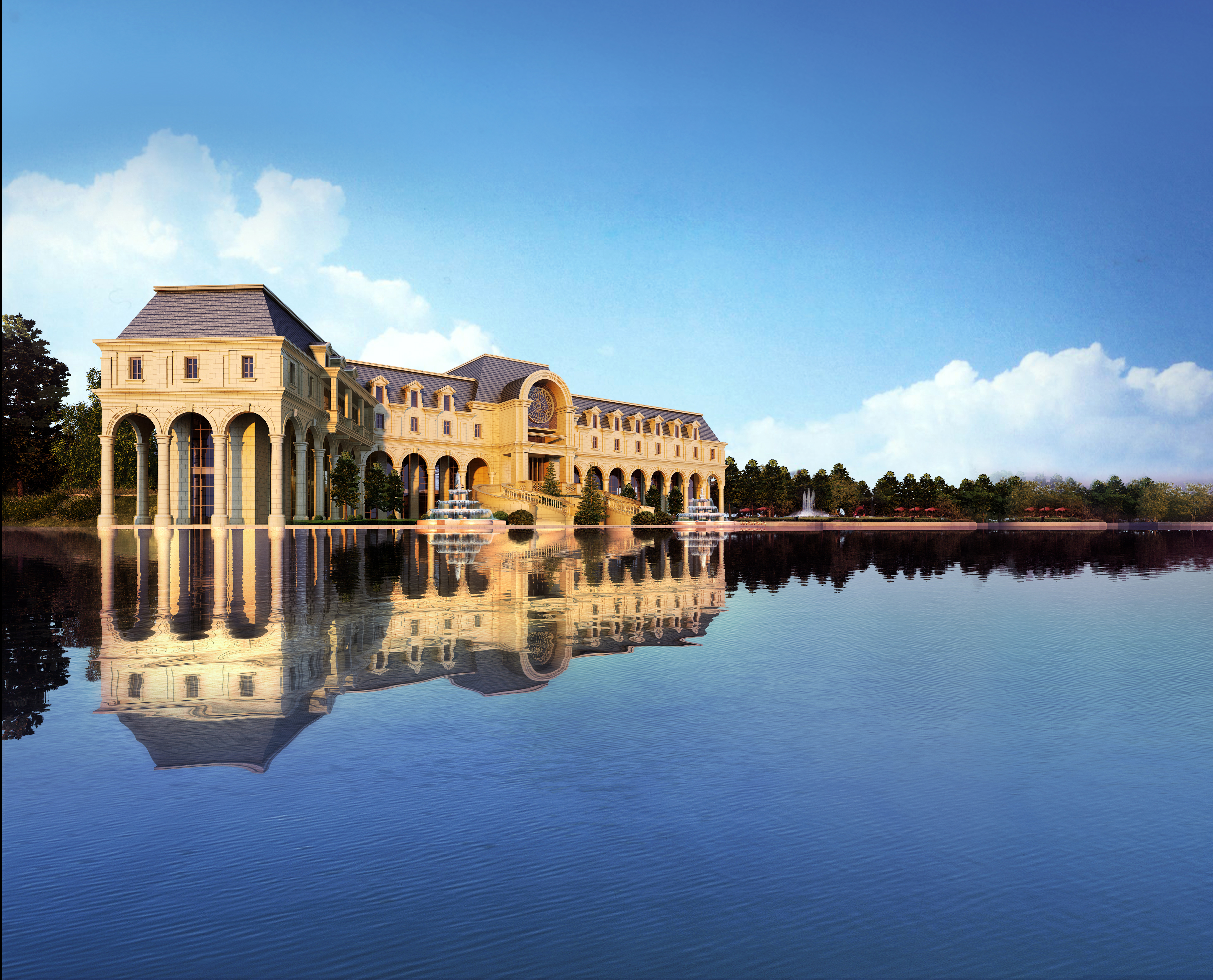 3d bungalow renderings singapore